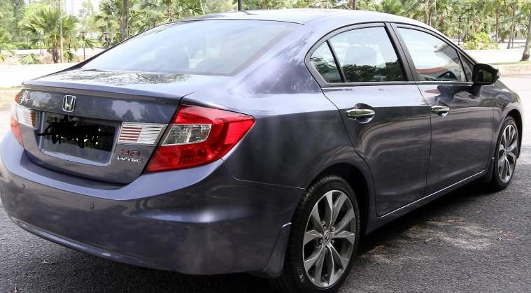 Honda Civic Test Drive